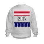 Presidential 2012 stars Kids Sweatshirt