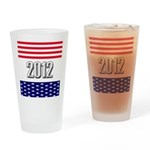Presidential 2012 stars Drinking Glass