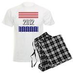Presidential 2012 stars Men's Light Pajamas