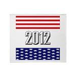 Presidential 2012 stars Throw Blanket