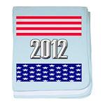 Presidential 2012 stars baby blanket