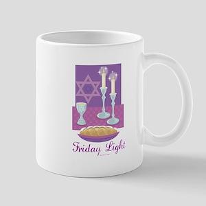 Friday Light Jewish Mug