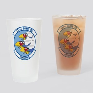 127th Bomb Squadron Drinking Glass