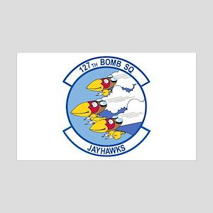 127th Bomb Squadron 38.5 x 24.5 Wall Peel