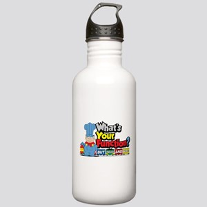 What's Your Function? Stainless Water Bottle 1.0L