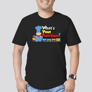 What's Your Function? Men's Fitted T-Shirt (dark)