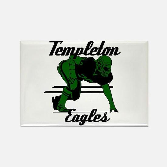 Templeton Eagles (16) Rectangle Magnet