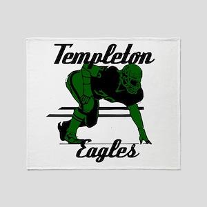Templeton Eagles (16) Throw Blanket