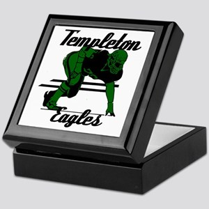 Templeton Eagles (16) Keepsake Box