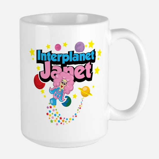 Interplanet Janet Large Mug