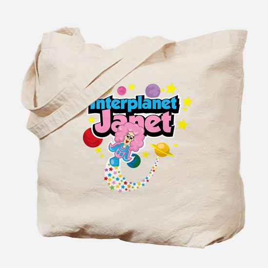 Interplanet Janet Tote Bag