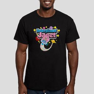 Interplanet Janet Men's Fitted T-Shirt (dark)