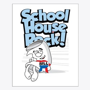 Schoolhouse Rock Bill Small Poster