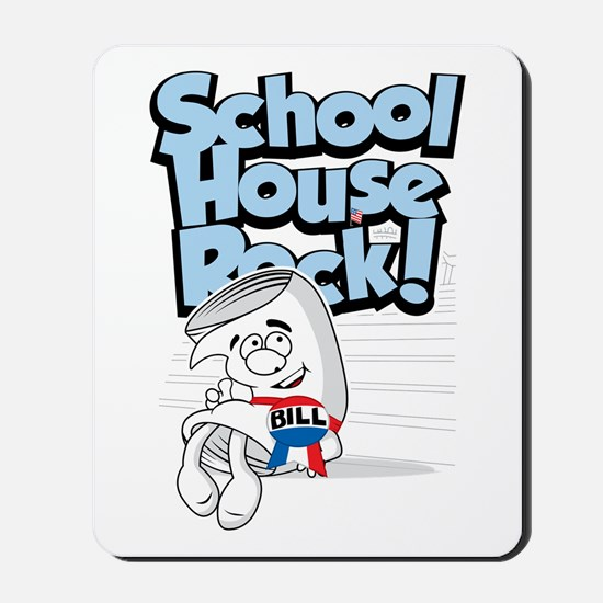 Schoolhouse Rock Bill Mousepad