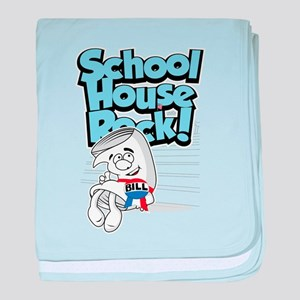 Schoolhouse Rock Bill baby blanket
