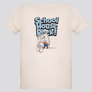 Schoolhouse Rock Bill Organic Kids T-Shirt