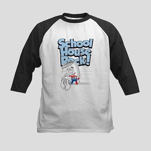Schoolhouse Rock Bill Kids Baseball Jersey