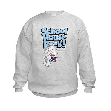 Schoolhouse Rock Bill Kids Sweatshirt