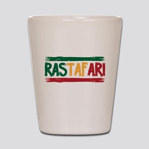 Rastafari Shot Glass