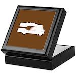 Food Truck: Side/Fork (Brown) Keepsake Box
