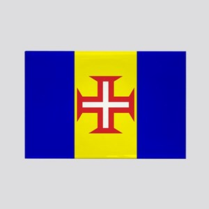 Madeira Flag Rectangle Magnet