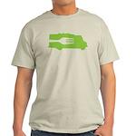 Food Truck: Side/Fork (Green) Light T-Shirt