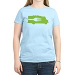 Food Truck: Side/Fork (Green) Women's Light T-Shir
