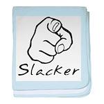 Slacker baby blanket