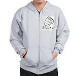 Slacker Zip Hoodie