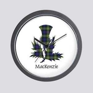 Thistle-MacKenzie htg grn Wall Clock