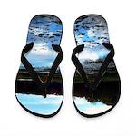Walking On Water Jolene's Trailer Park Flip Flops