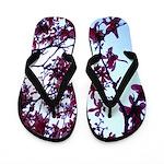 Jolene's Cherry Blossom Flip Flops