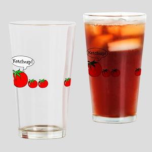 Ketchup! Drinking Glass