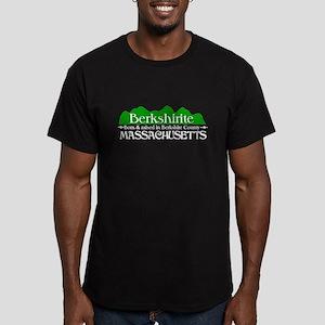 Berkshirite Men's Fitted T-Shirt (dark)