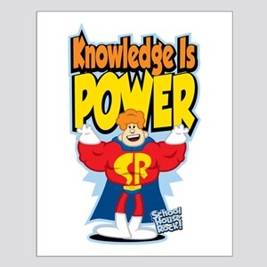 Knowledge Is Power Small Poster