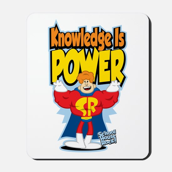 Knowledge Is Power Mousepad