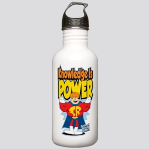 Knowledge Is Power Stainless Water Bottle 1.0L