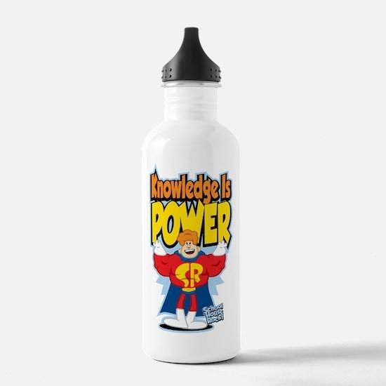 Knowledge Is Power Sports Water Bottle