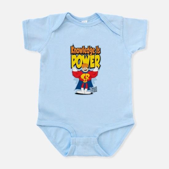 Knowledge Is Power Infant Bodysuit