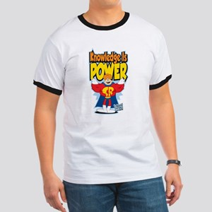 Knowledge Is Power Ringer T