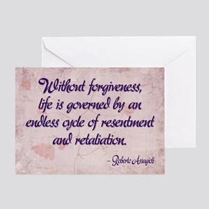 Forgiveness greeting cards cafepress forgiveness greeting card m4hsunfo