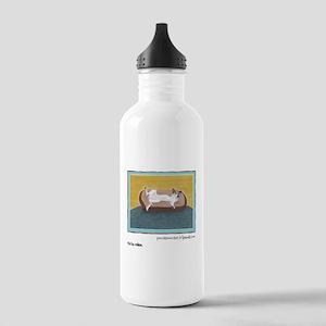 Custom Abby Art Stainless Water Bottle 1.0L