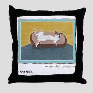 Custom Abby Art Throw Pillow