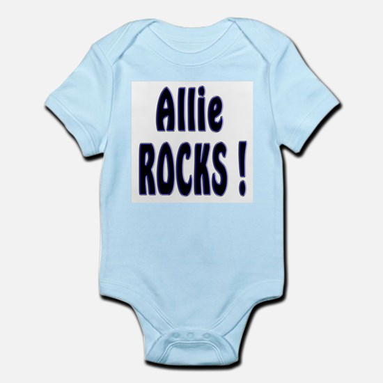 Allie Rocks ! Infant Creeper