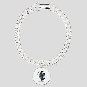 Map-MacKenzie htg grn Charm Bracelet, One Charm