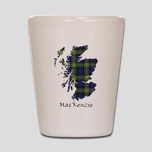 Map-MacKenzie htg grn Shot Glass