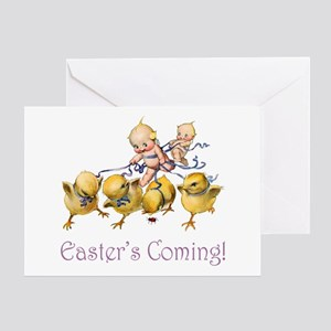 Easter's Coming Greeting Card