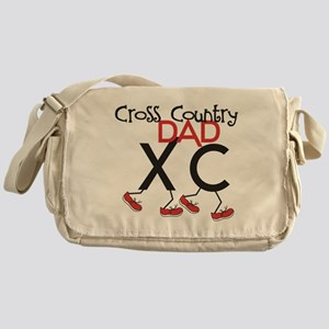 Cross Country Dad Messenger Bag
