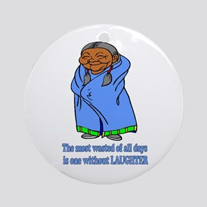 Laughter Ornament (Round)