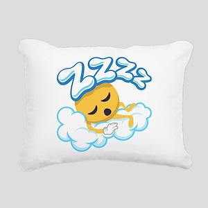 ZZZZ Rectangular Canvas Pillow